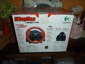 Old Logitech Wingman Steering Wheel