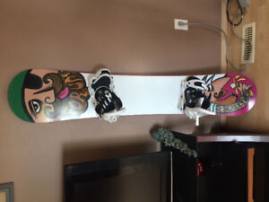Board, boots and binding FOR SALE