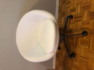 White BRAND NEW IKEA CHAIR
