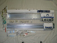 Brother knitting machines Electroknit KH 965i and ribber KR850