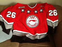 "Authentic Soo Greyhound ""Game Day"" Hockey Jersey"