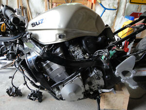 Parting out 2001 Suzuki GSX Katana 750 being sold for parts only