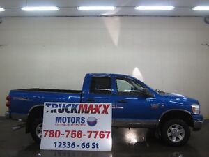 2008 Dodge Power Ram 3500 Quad Cab 4x4 Diesel
