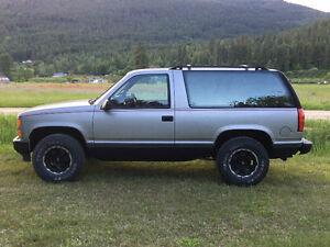 1992 Chevrolet Full-Size Blazer Custom Restored
