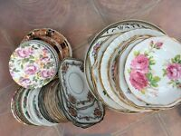 Crockery / tea cups / afternoon tea sets