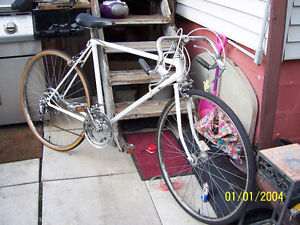 27 IN RALEIGH ROAD BIKE/RACER (SKINNY TIRE)
