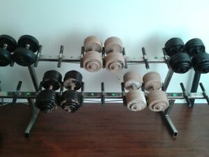 COMMERCIAL GRADE DUMBBELL RACK - trade or sale