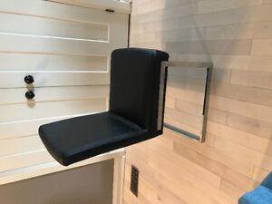 6 black kitchen chairs