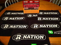 Redblacks CFL 2015 Eastern Final Towels and Team Photos