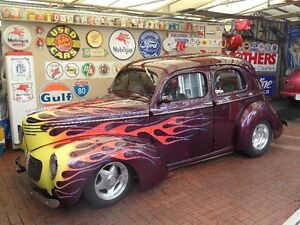 1940 Willys 4 door sedan  all steel body