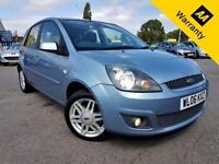 2006 06 FORD FIESTA 1.4 GHIA 16V 80 BHP! P/X WELCOME! 48K MILES! FULL LEATHER!