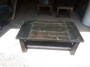 Beautifull custome made tables.