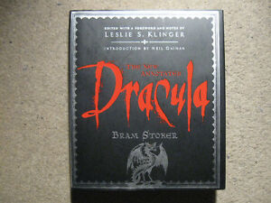 New Annotated Dracula-Bram Stoker/Leslie Klinger-like new
