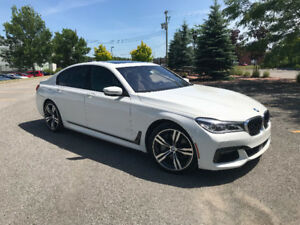 Transfère de location 2016 BMW 750I (7500$ d'incitatif)