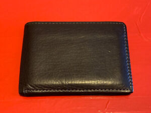 Geniune leather slim passcase wallet