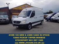 2011 11 MERCEDES-BENZ SPRINTER 313 CDI M.W.B 1 OWNER ONLY 59000 MLS (( NO V.A.T