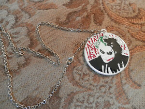 Joker / Suicide Squad Double Sided Necklace/Medallion