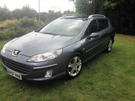Peugeot 407 SW 2.0HDi 136 2007MY SE PANORAMIC SUNROOF
