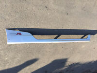 Honda Civic type r ep2 ep3 silver drivers side skirt ( 2001 - 2005 )