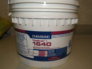 Tile glue for flooring or backsplash