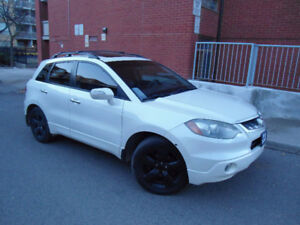 2008 ACURA RDX TURBO SH-AWD , PEARL WHITE , TECH PACKAGE !!!