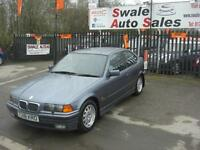 1999 BMW 316 COMPACT 1.9i ONLY 64,736 MILES, FULL SERVICE HISTORY