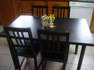 table for sale city of toronto 9 hours ago 5 piece dining table black