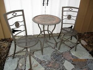 Bistro Set - Table & 2 chairs