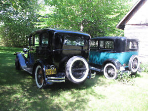 1930 CHRYSLER & 1930 FORD Tudor
