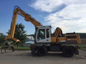Chargeuse a bois Liebherr A924