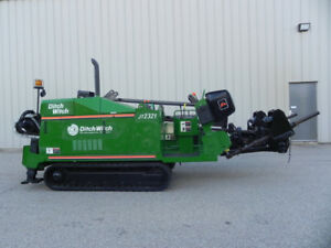 DITCH WITCH JT2321 Diesel low hours