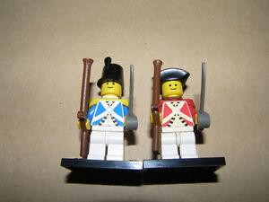 2 Figurine Lego Soldat Imperial Pirate Français VS Anglais 2/15$ Québec City Québec image 1