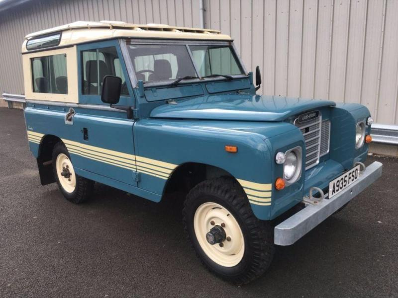 1984 LAND ROVER 88 SERIES 3 SWB FACTORY COUNTY STATION WAGON SWB