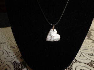 Pure Silver Heart Pendant With Genuine Diamond Accent Centre