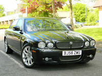2008 58 Jaguar XJ 2.7 TD Sovereign (LWB) 4dr WITH FJSH+MEGA SPEC+REAR SCREENS