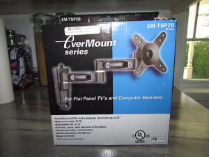 Mount for computer monitor or flat panel tv