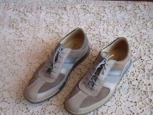Cole Haan GrandOS Wingtip Leather Suede Shoes 7.5 M