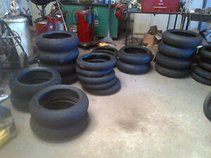 """MOTOR CYCLE RACING TIRES FRONT AND REAR 17"""""""