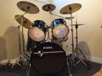 Tama drum set 4 sale
