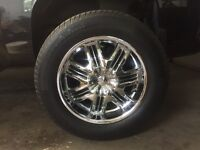 P275/60R20 Tires and Rims