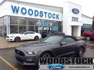 2015 Ford Mustang EcoBoost Premium   - CONVERTABLE - LEATHER - L