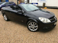 2007 '57' Vauxhall Astra Twin Top Cabriolet Convertible 1.8 DESIGN Sport Px Swap