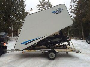 Remorque ski-doo 4 roues