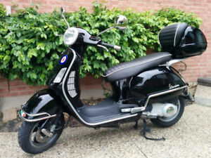 Vespa 200GT - 20hp up 115km/hr