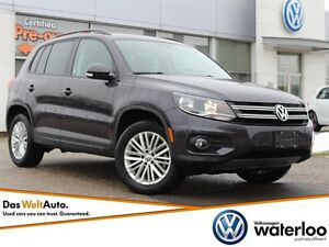 2016 Volkswagen Tiguan Special Edition - Accident Free!