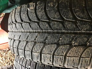 265/70/17 Michelin M+S Tires. 50% remaining