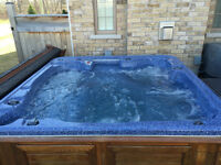 Used Hot Tub with Warranty - Slip Into Something More Affordable