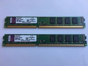 Kingston 8GB (4GBx2) DDR3 1333MHz DIMM Memory for Desktop