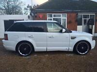 LAND ROVER RANGE ROVER SPORT TDV8 SPORT HSE overfinch upgrade kit, White, Auto,