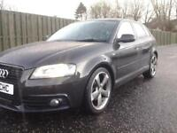 Audi A3 2.0TDI ( 140PS ) Sportback 2011MY Black Edition full audi servicehistory